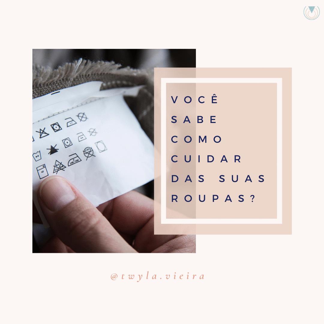 Não corte a etiqueta da sua roupa antes de ler