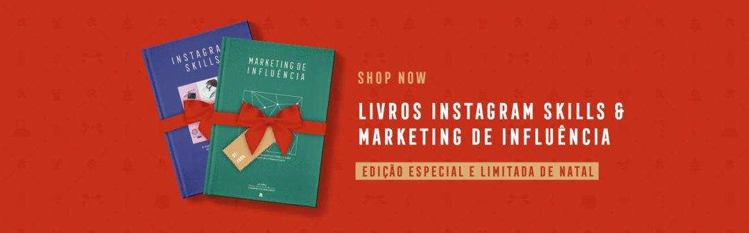 Livro Instagram Skills e Marketing de Influência: edição ESPECIAL e LIMITADA de NATAL! 🎄⚡📚