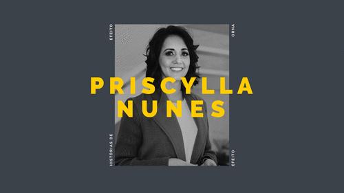 Histórias de Efeito I Priscylla, a designer empreendedora que criou o novo cardápio do ORNA Café