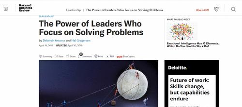 Problem-led leadership - O que aprender com o estilo MIT de liderança